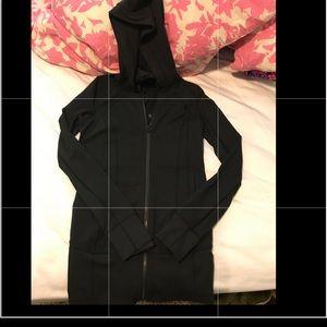 Lululemon Black Hoody Size 4